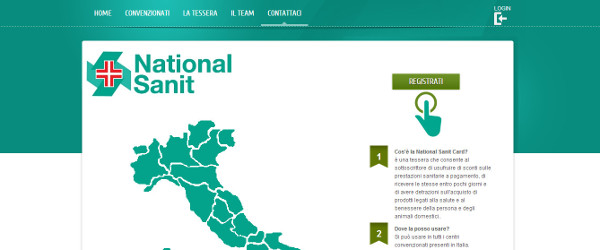 sito web national sanit