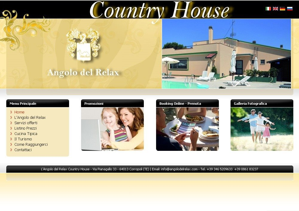 L Angolo Del Relax.Country House Angolo Del Relax