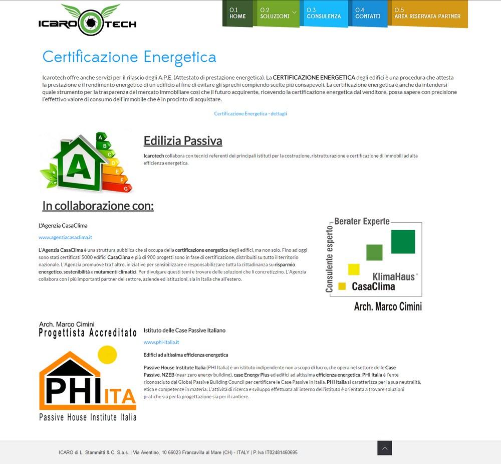 Soluzioni per il risparmio energetico for Sito web di progettazione edilizia