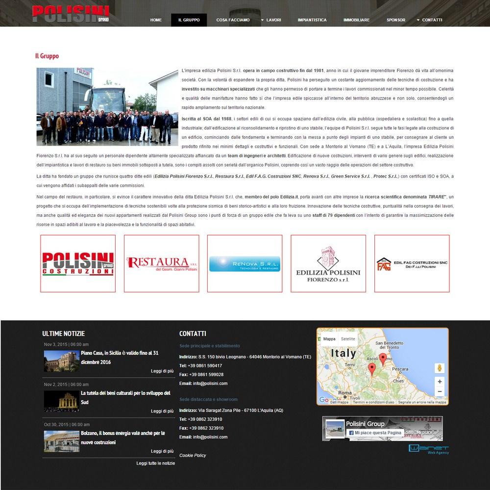 Edilizia e impiantistica for Sito web di progettazione edilizia