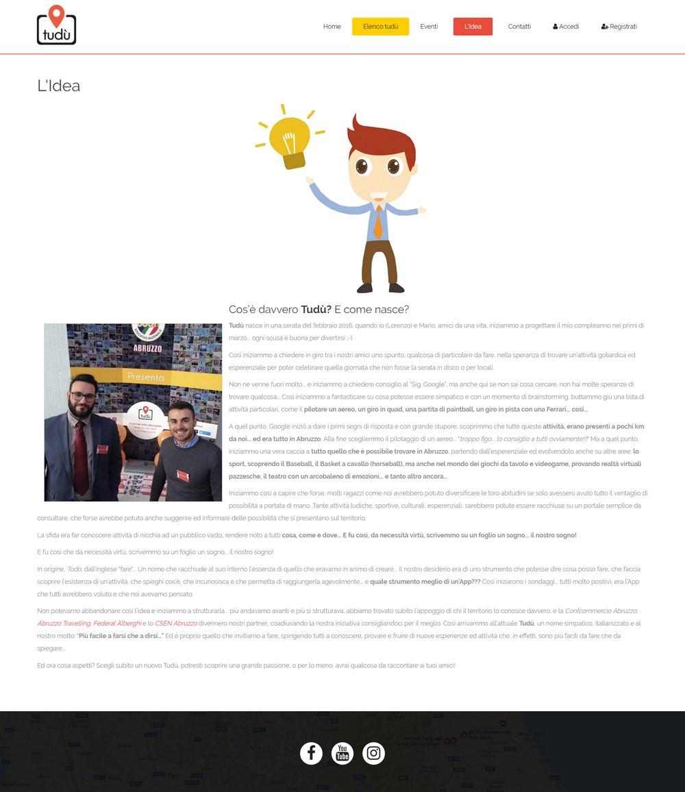 Progettazione di database di siti Web di incontri